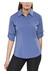 Columbia Silver Ridge overhemd en blouse lange mouwen blauw